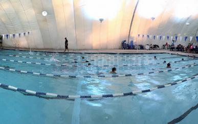 美国马里兰气膜游泳馆