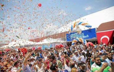 土耳其安塔利亚气膜儿童乐园