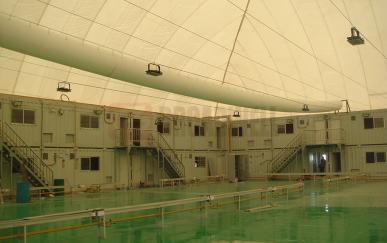 富士康可移动洁净气膜厂房—成都一、二期