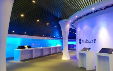 晋城微软服务中心气膜展示厅