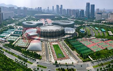 济南奥体中心气膜网球馆