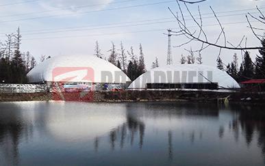 长白山冰雪部落气膜训练馆(极限单车)