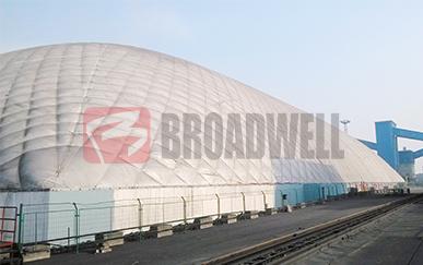 神华集团宁夏太西洗煤厂气膜储煤棚
