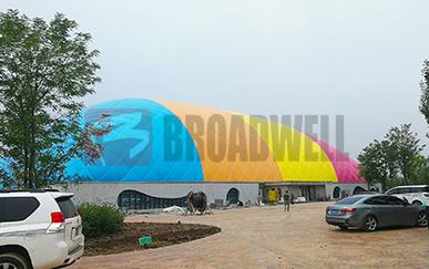 银川城市规划局气膜展示馆