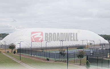 美国北卡罗来纳州Wesleyan College气膜网球馆